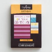 Boxed Cards(12): Birthday (CB37361)