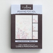 Boxed Cards(12): Praying for You Butterflies (CB86069)