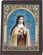 Desk Plaque: St Theresa (PL27318)