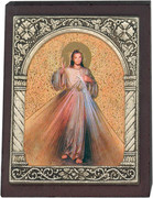 Desk Plaque: Divine Mercy (PL27358)