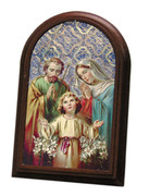 Plastic Standing Plaques - Holy Family