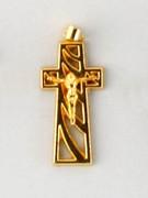 Gilt Crucifix (Small): 30mm