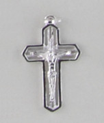 Sterling Silver Pendant: 20mm Crucifix (CR102)