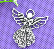 Pendant: Decorative Angel, 42mm