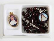 Boxed Rosary & Medal Set, Mary MacKillop