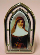 Small Metal Plaque: Mary MacKillop in Arch