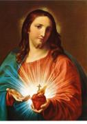 Poster Print: Sacred Heart of Jesus (PI10X801)