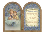 Bi-fold plastic plaque: Guardian Angel (PL1111GA)