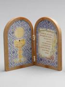 Communion Gift: Bi-fold Plastic Plaque (PL1111CO)