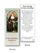 Laminated Book Mark : Mary MacKillop (one)