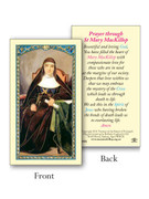 Laminated Holy Cards: 800 SERIES - St Mary MacKillop - each