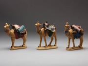 Set of 3 Camels 14cm (NST9483)