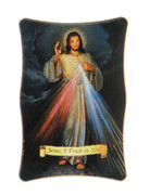 1269 Series Plastic Plaque - DIVINE MERCY