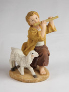 Shepherd with Flute, 11cm