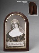 Plastic Standing Plaques: Mary MacKillop