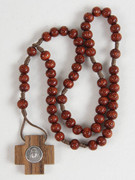 Wooden Rosary Bead with Nylon Cord: Mary MacKillop