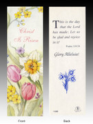 Easter Bookmark: Christ is Risen
