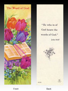 Easter Bookmark: Word of God