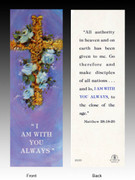 Easter Bookmark: I Am With You Always