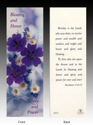 Easter Bookmark: Blessing and Honor