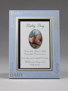 Baby Gift: Baby Boy Message Frame