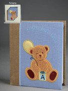 Baby Gift: Boy Fabric Photo Album