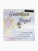 Lapel Pin, Crystal Guardian Angel