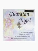 Lapel Pin, Crystal Guardian Angel