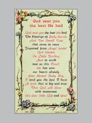 Holy Verse Cards (each): God Sent Boy