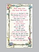 Holy Verse Cards (each): God Sent Girl