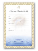 Invitation Set: Baptism/Christening (Adult)