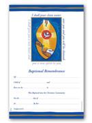 Certificate, Bapismal STYLIZED