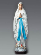 Indoor/Outdoor Church Statue: OL Lourdes 130cm