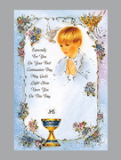 "Communion Cards (each): Boy ""God's Light...(CDC5584e)"
