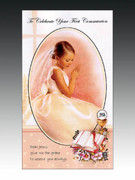 "Communion Cards (each): Girl ""To Celebrate..."
