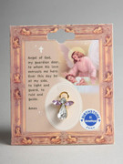Birthstone Crystal Angel Pin: June