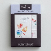 Boxed Cards (12): Praying for You Water Colours (CB77546)