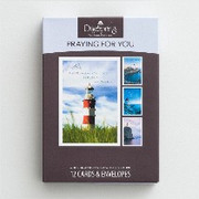 Boxed Cards (12): Praying for You Lighthouses (CB37114)