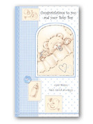 Packet Cards (12): Baby Boy: Congrats (CDB6871)