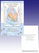 Packet Cards (6): Christening: Boy (CDB7076)