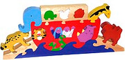 Noah and His Ark: Wooden Puzzle