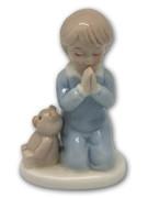 Porcelain Statue, Boy Praying (ST2673B)