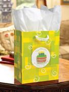 Gift Bag: Birthday Cake Large