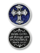 Glitter Coin: With God