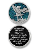 Glitter Coin: Archangel Michael