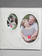Photo Frame: 25th Anniversary Two Picture