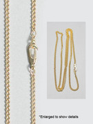 Plain Chain: Gold Plated