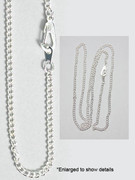 Plain Chain: Silver Plated
