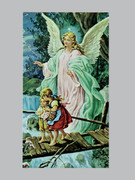 Holy Card: Guardian Angel (100)