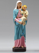 Indoor/Outdoor Statue: Mother &amp; Child 40cm